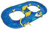 BIG - Waterplay Rotterdam - Wasserbahn blau, 89 x 51,5 x 9,5cm große Bahn, inklusive 1 Boot und 1 Männchen, abnehmbarer Strömungserzeuger, ab 3 Jahren