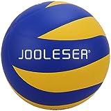 JOOLESER Soft Touch Beach Volleyball, offizielle Größe 5 Indoor & Outdoor Volleyball (Blau)