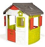 Smoby – Neo Jura Lodge - Spielhaus für Kinder für drinnen und draußen, mit Fenstern, Türen, Vogelhaus, erweiterbar durch Zubehör, für Jungen und Mädchen ab 2 Jahren