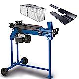 scheppach liegend Holzspalter HL760LS Brennholzspalter Hydraulikspalter elektrisch 230V + Untergestell | Spaltkraft 7 Tonnen | Spaltlänge 520mm | 2200W Leistung
