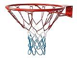 Basketballkorb HangRing Basketball Basketballring mit Ring und Netz 45 cm