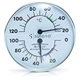 SULENO Sauna Klimamesser 2in1 Thermometer Hygrometer Klimastation