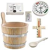 SudoreWell® Sauna Starter Set 1 / Saunazubehör Set 7-teilig