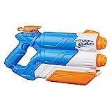 Super Soaker Twin Tide, Wasserpistole mit doppelter Spritzpower und Pump-Funktion