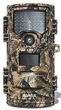 WiMiUS H7 Wildkamera, 16MP 1080P Wildkamera mit Bewegungsmelder Nachtsicht, IP66 Wasserdicht Wildtierkamera, Überwachungskamera für Wildtierjagd und Heimsicherheit