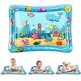 JOYSPACE Wassermatte Baby Wasserspielmatte BPA-frei Spielzeuge 3 6 9 Monate Aufblasbare Bauchzeit Matte Spaßaktivitäten Spielcenter Das Stimulations Wachstum Ihres Babys(75 * 60 cm)
