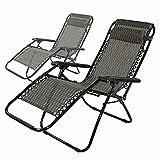Liegestuhl 2er Set, Relaxliege klappbar, Liegestuhl klappbar, Relax Liegestuhl Aluminium, Liegestuhl Relaxliege,Liegen für den Garten, Relaxstuhl,Relaxsessel