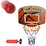 Akokie Basketballkorb Kinder Mini Basketball mit Ballpumpen Gartenspielzeug Basketball Korb Spiele Outdoorspielzeug Geschenke für Kinder ab 3 4 5 6 7 8 Jahren Junge Mädchen