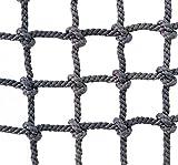 Xbshmw Kletternetz für Kinder und Erwachsene, Krabbelnetz Fallen Schutz Netz für Outdoor Sport Innendekoration, Netzstärke 8mm Sicherheitsnetz,1×3m(3.3 * 10ft)
