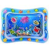 MAGIFIRE Baby Wassermatte, Wasserspielmatte Tolle Babyspielzeug ab 3 6 9 Monate Geschenke für Neugeborene Jungen Mädchen