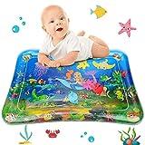Wassermatte Baby, GUBOOM Wasserspielmatte BPA-frei, Baby Spielzeuge 3 6 9 Monate, 2021 NEW Auslaufsicheres PVC Wassergefüllte Spielmatte für Baby Sensorisches Entwicklung Ausbildung (Meerjungfrau)