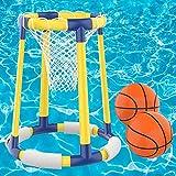 AOLUXLM Pool Spielzeug Kinder Erwachsene Wasserspielzeug, Pool Zubehöhr Spaß Basketball Hoop Floating Kinderspielzeug für Pool im Sommer Wasser Spielzeug