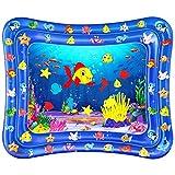Wassermatte Baby, Dycsin Baby Spielzeug 3 6 9 Monate 120 * 100CM Wasserspielmatte Baby Tummy Time Mat BPA-frei Baby Spielzeug Aufblasbare Wassermatte Für Babys