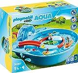 Playmobil 1.2.3 Aqua 70267 Fröhliche Wasserbahn, Ab 1,5 bis 4 Jahre